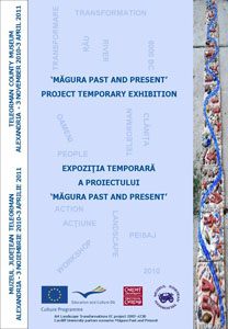 Măgura Past & Present exhibition poster