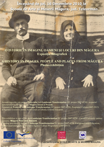 Măgura photograph exhibition poster