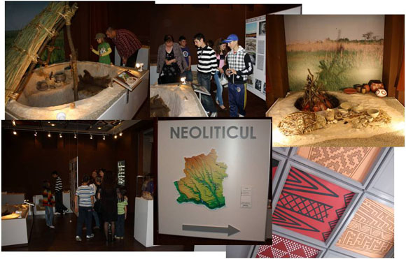 Neolithic exhibition at the Teleorman County Museum