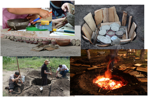 Pottery making, decorating and firing at the Măgura School of Arts & Crafts