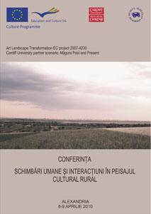 Rural cultural landscape conference poster