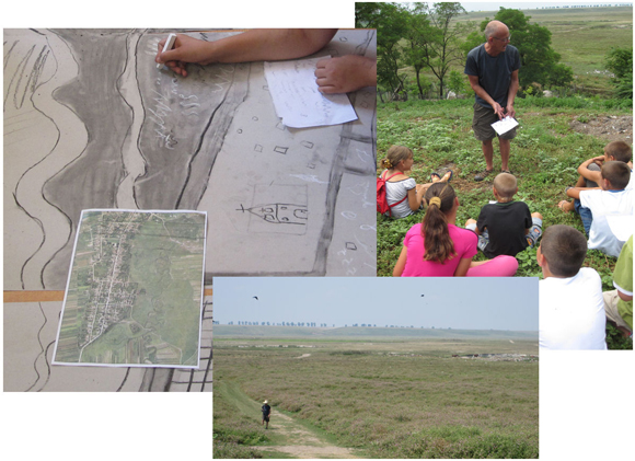 Mapping sound with school children and sound recording in the Claniţa River Valley